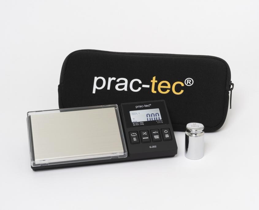 prac-tec® Taschenwaage G-202